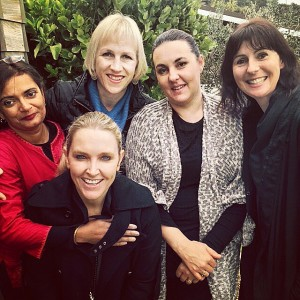 These women A surgeon a physio a lawyer an actorhellip