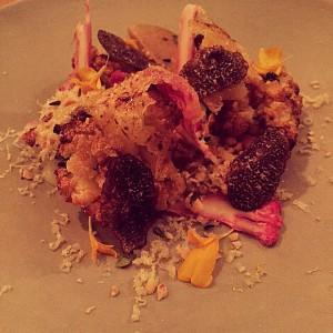 The astonishing cauliflower amp perigord truffle dish at orphanskitchen tonighthellip