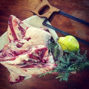 Home grown home killed and butchered lamb shoulder I wishhellip