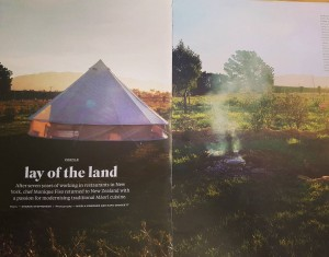 Lovely to see pictures of TheFoodFarm in the latest Dishhellip