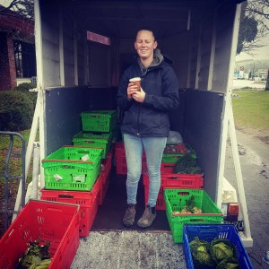 Nice work Hannah from growncam today at the waiparavalleyfarmersmarket Hellishhellip