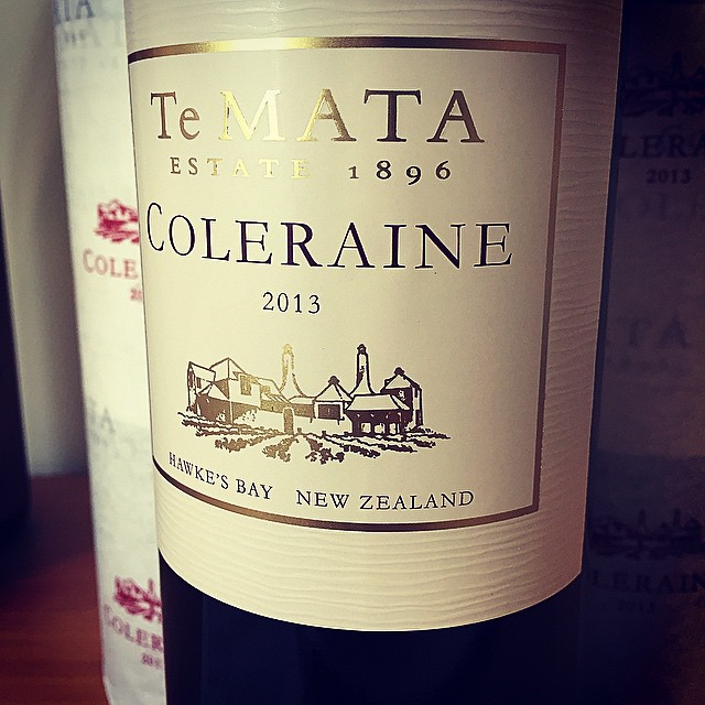 My precious! The #NZWine of my youth, it's been a few years since I've restocked the cellar with Coleraine. From everything I've heard about this wine, 2013 is the vintage to do it.