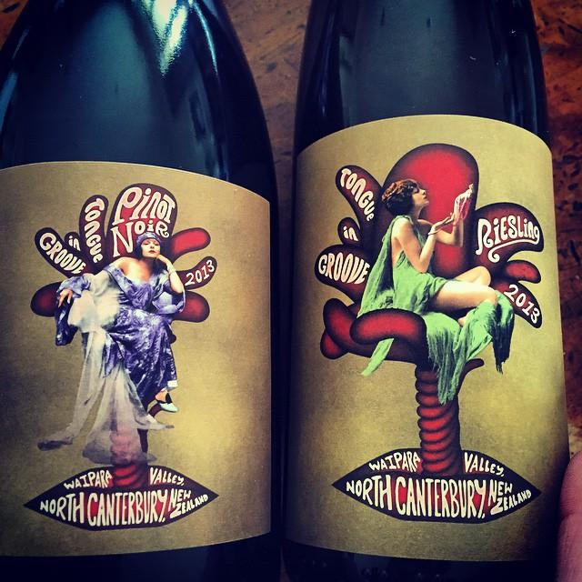 Releasing these babies this week. So proud of them both. #nzwine #wine #PinotNoir #Riesling #NorthCanterbury